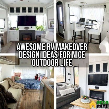 Awesome Rv Living Room Remodel Design37