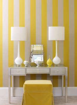 Awesome Striped Painted Wall Design And Decorating Ideas09