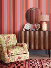 Awesome Striped Painted Wall Design And Decorating Ideas12