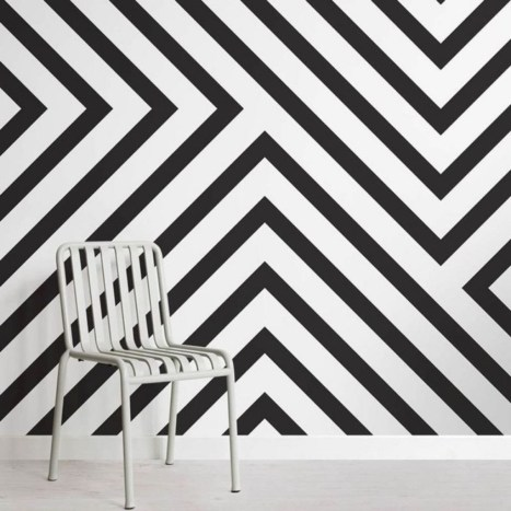 Awesome Striped Painted Wall Design And Decorating Ideas24