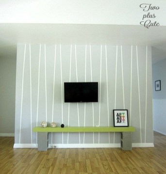 Awesome Striped Painted Wall Design And Decorating Ideas32