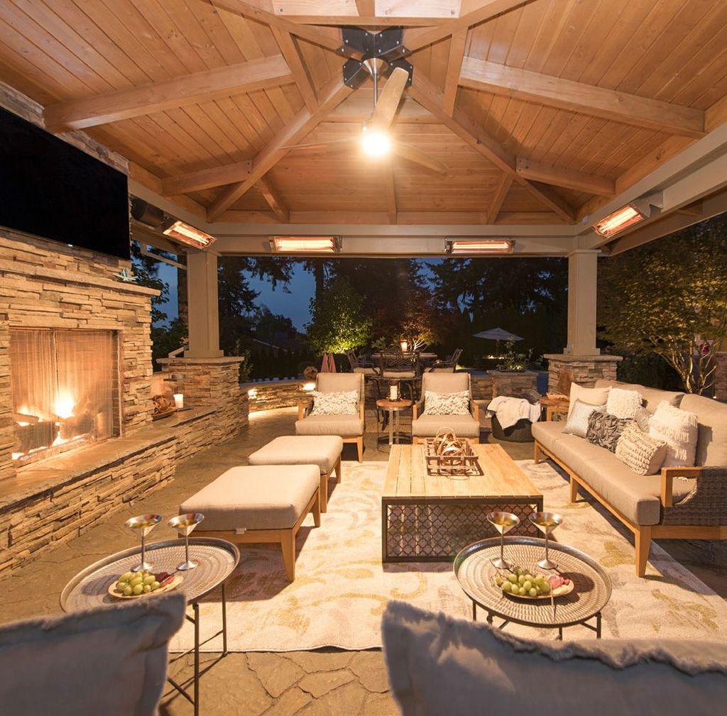 Beautiful Outdoor Living Decoration Ideas31