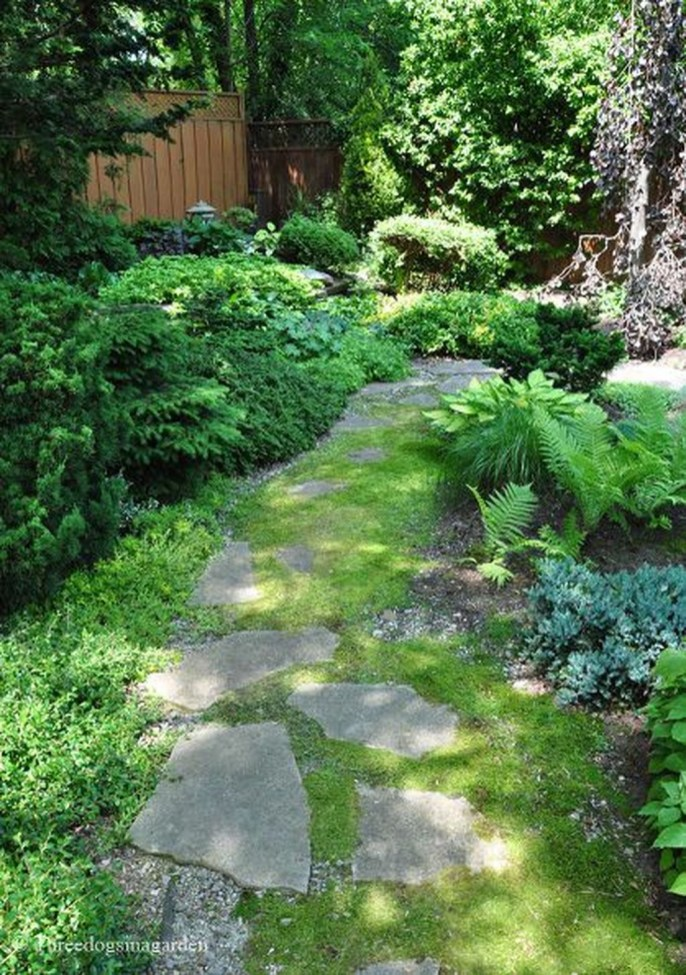 Beautiful Shady Gardens Design Ideas32