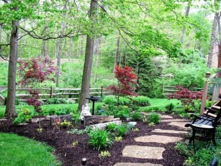 Beautiful Shady Gardens Design Ideas33