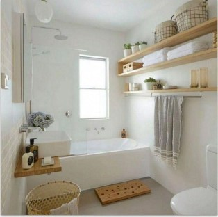 Best Bathroom Decorating Ideas For Comfortable Bath18