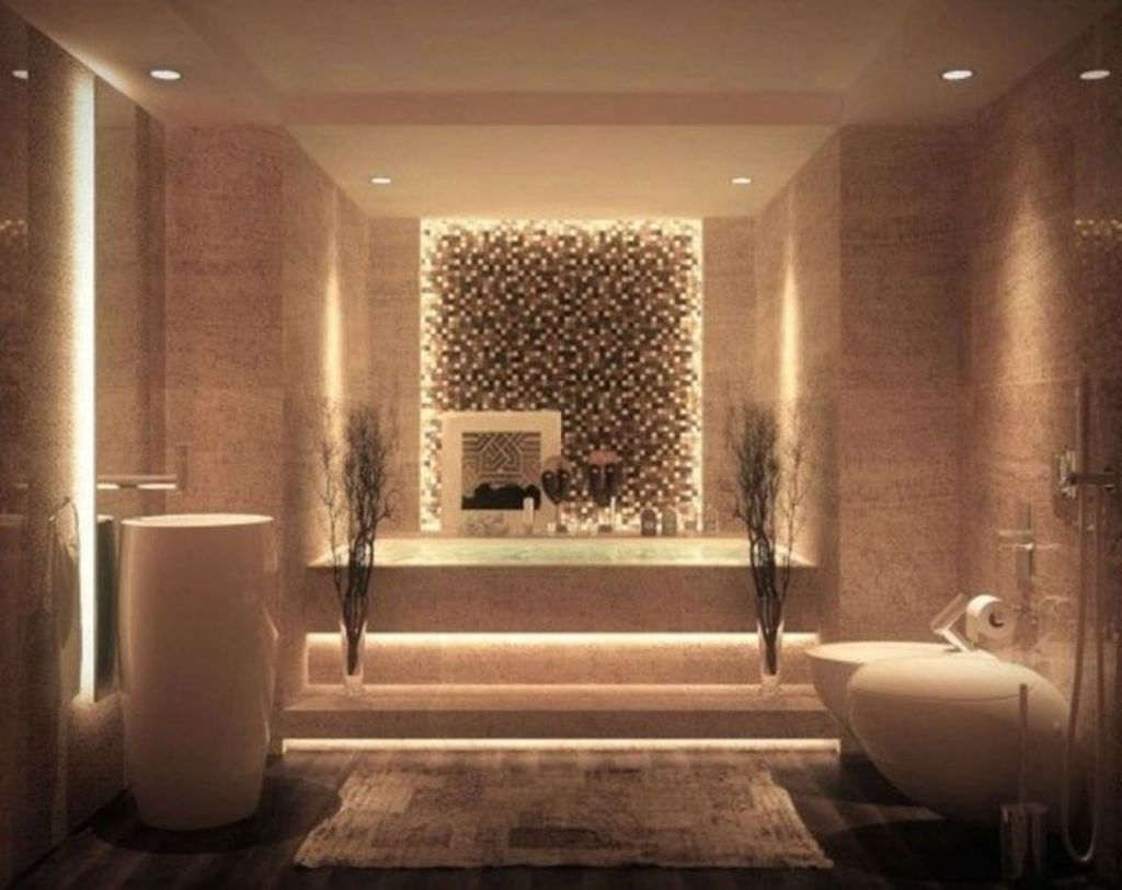 Best Bathroom Decorating Ideas For Comfortable Bath19
