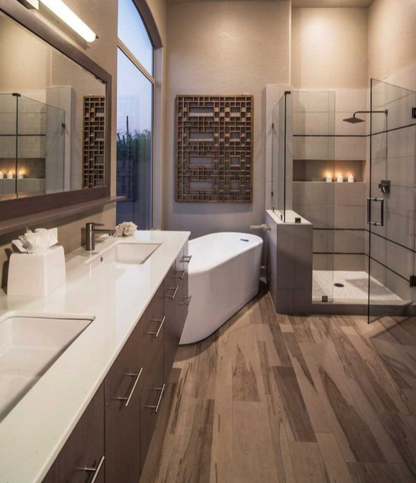 Best Bathroom Decorating Ideas For Comfortable Bath46