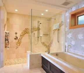 Best Natural Stone Floors For Bathroom Design Ideas15