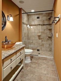 Best Natural Stone Floors For Bathroom Design Ideas29