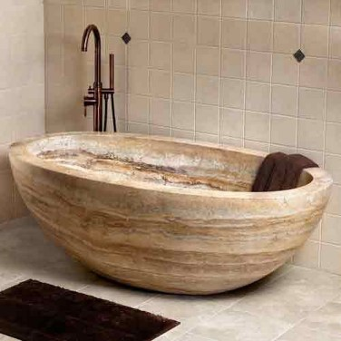 Best Natural Stone Floors For Bathroom Design Ideas34