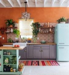 Charming Kitchen Cabinet Decorating Ideas11