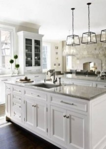 Charming Kitchen Cabinet Decorating Ideas29