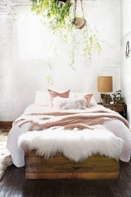 Chic Boho Bedroom Ideas For Comfortable Sleep At Night13