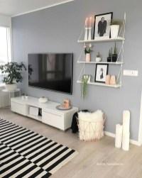 Impressive Apartment Living Room Decorating Ideas On A Budget19
