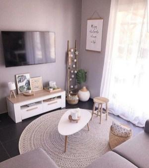 Impressive Apartment Living Room Decorating Ideas On A Budget32
