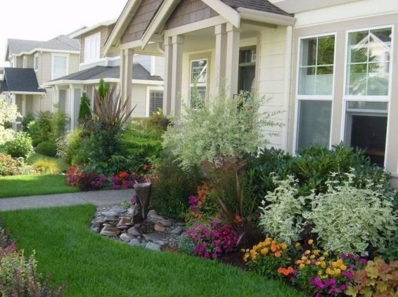 Incredible Flower Bed Design Ideas For Your Small Front Landscaping11
