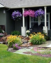 Incredible Flower Bed Design Ideas For Your Small Front Landscaping18