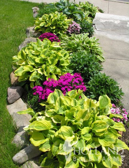 Incredible Flower Bed Design Ideas For Your Small Front Landscaping24