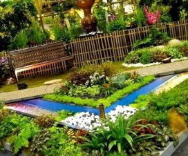 Incredible Flower Bed Design Ideas For Your Small Front Landscaping27