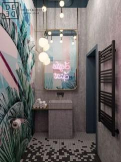 Most Popular Bathroom Color Design Ideas29