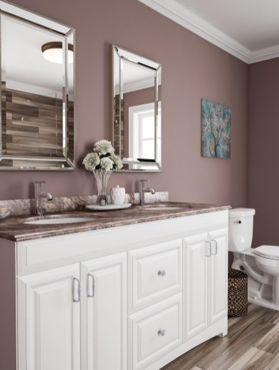Most Popular Bathroom Color Design Ideas33