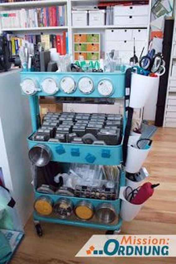 Stunning Diy Portable Office Organization Ideas19