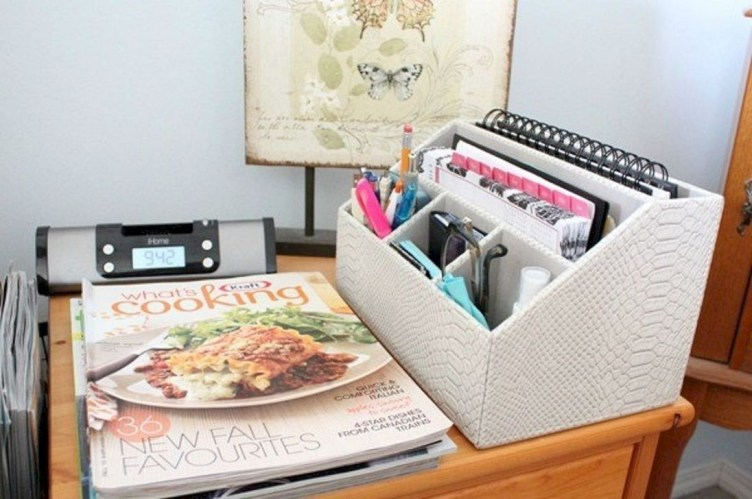 Stunning Diy Portable Office Organization Ideas20