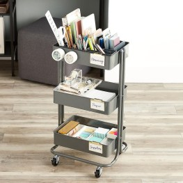 Stunning Diy Portable Office Organization Ideas22