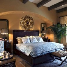 Tuscan Style Bedroom Decorative Ideas That Make Your Sleep Warm05