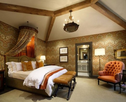 Tuscan Style Bedroom Decorative Ideas That Make Your Sleep Warm26