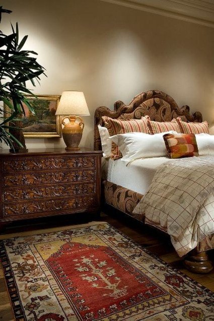 Tuscan Style Bedroom Decorative Ideas That Make Your Sleep Warm32