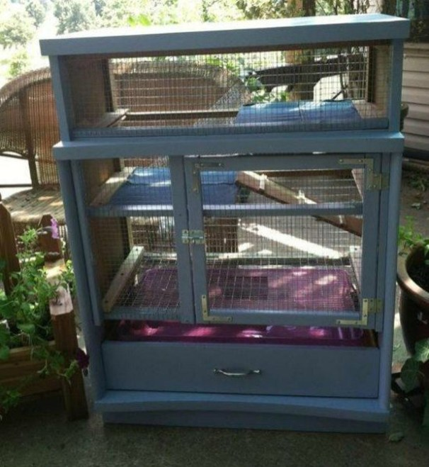 Unique Diy Pet Cage Design Ideas You Have To Copy31