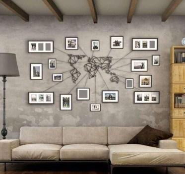 Unique Wall Decor Design Ideas For Living Room07