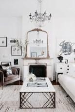 Wonderful Black White And Gold Living Room Design Ideas04
