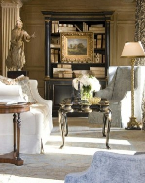 Wonderful Black White And Gold Living Room Design Ideas38