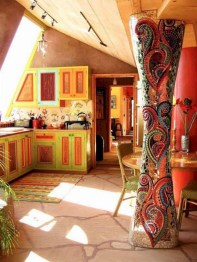 Awesome Bohemian Kitchen Design Ideas For Comfortable Cooking02