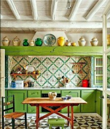 Awesome Bohemian Kitchen Design Ideas For Comfortable Cooking03