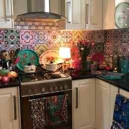 Awesome Bohemian Kitchen Design Ideas For Comfortable Cooking10