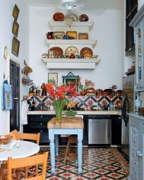 Awesome Bohemian Kitchen Design Ideas For Comfortable Cooking14