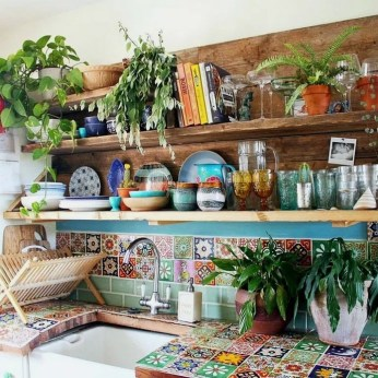 Awesome Bohemian Kitchen Design Ideas For Comfortable Cooking36
