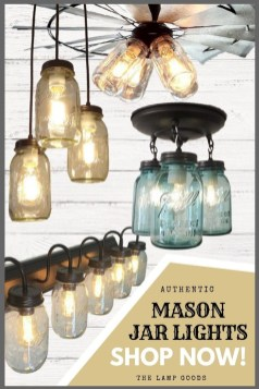 Awesome Diy Mason Jar Lights To Make Your Home Look Beautiful21