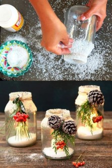 Awesome Diy Mason Jar Lights To Make Your Home Look Beautiful30