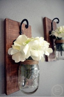 Awesome Diy Mason Jar Lights To Make Your Home Look Beautiful31
