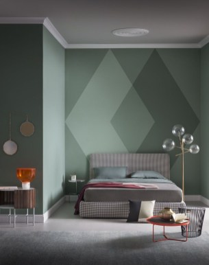 Awesome Wall Paint Color Combination Design Ideas For The Beauty Of Your Home Interior18