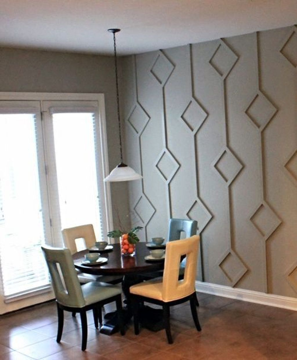 Awesome Wall Paint Color Combination Design Ideas For The Beauty Of Your Home Interior34