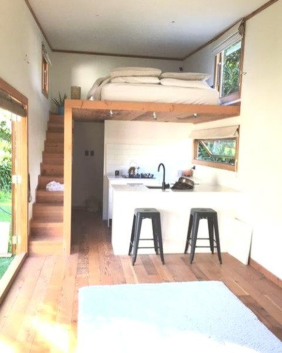 Beautiful And Creative Tiny Houses That Maximize Function Your Home32