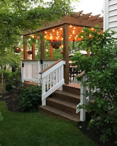 Comfortable Backyard Decoration Ideas For Your Summer08