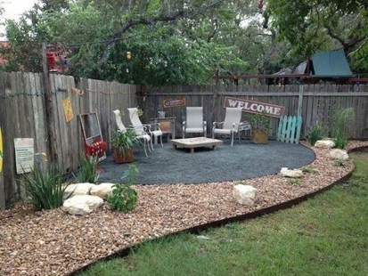 Comfortable Backyard Decoration Ideas For Your Summer22