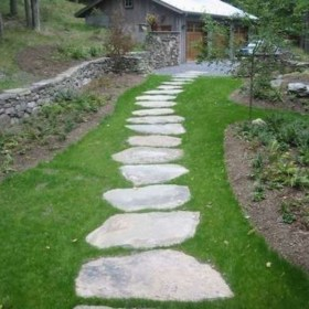 Creative Diy Garden Walkways Ideas For Stunning Home Yard22