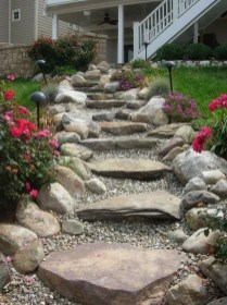 Creative Diy Garden Walkways Ideas For Stunning Home Yard23